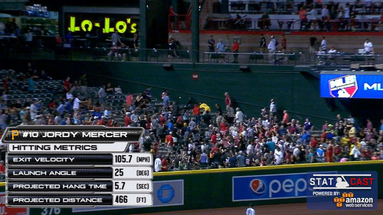 Statcast: Mercer's no-doubter