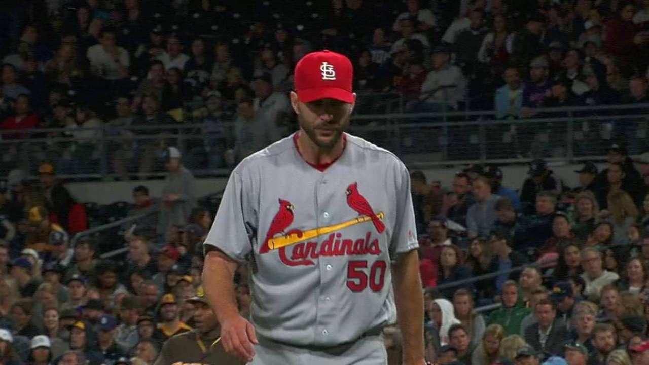 Wainwright strikes out Norris