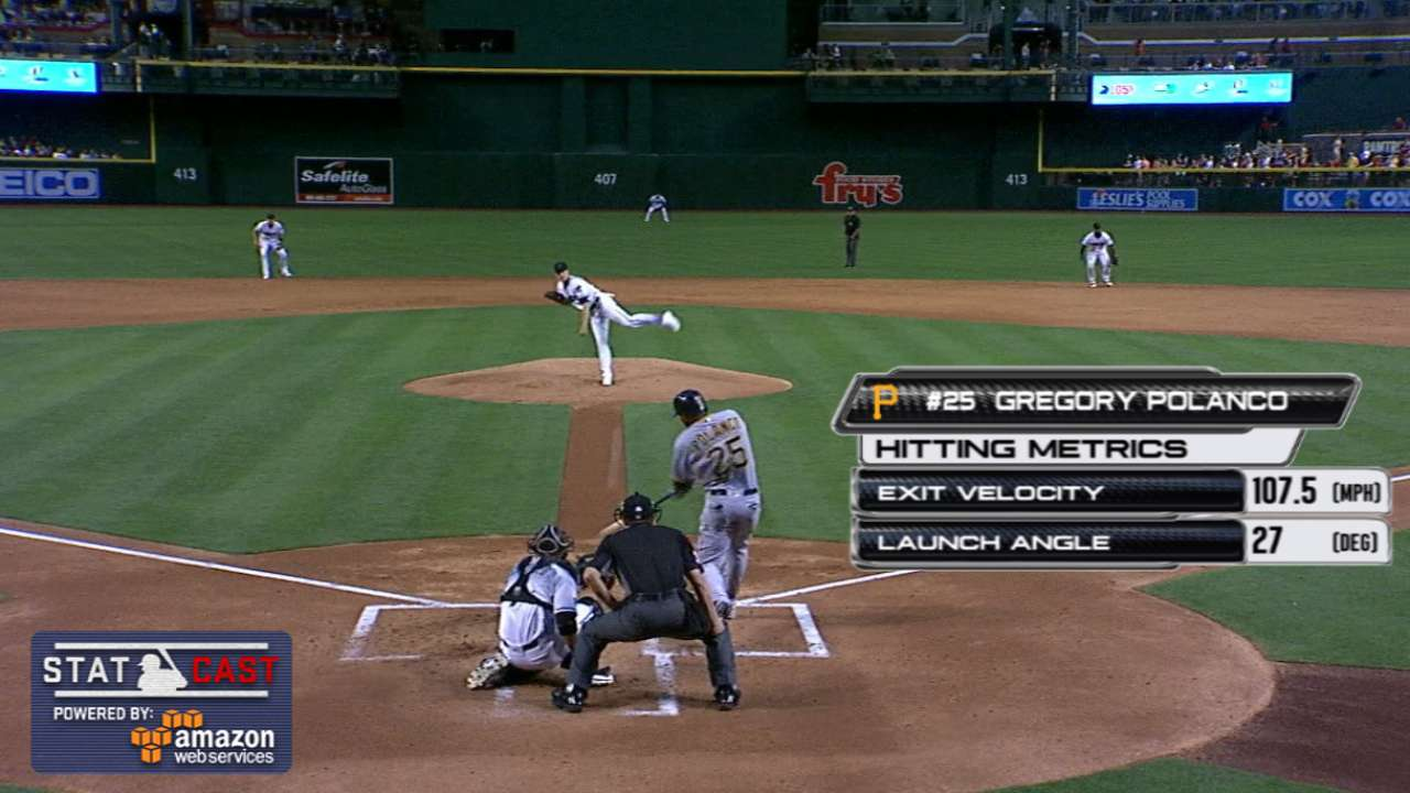 Pirates power up, then hold off D-backs' rally