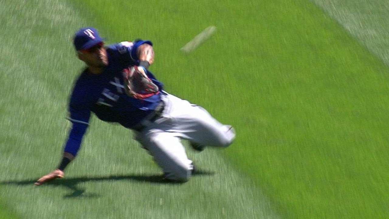 Desmond's sliding catch