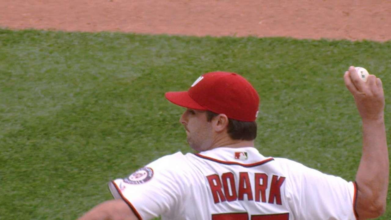 Dominant Roark records 15 K's vs. Twins