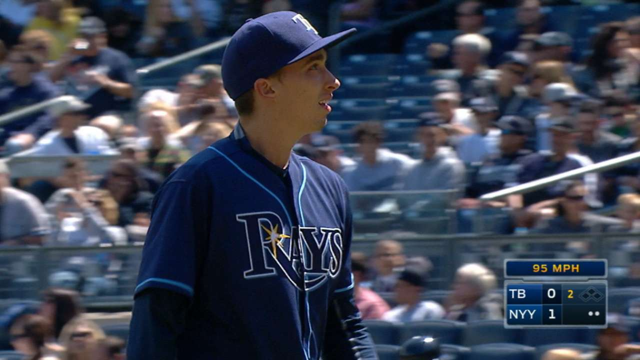 Snell's solid MLB debut