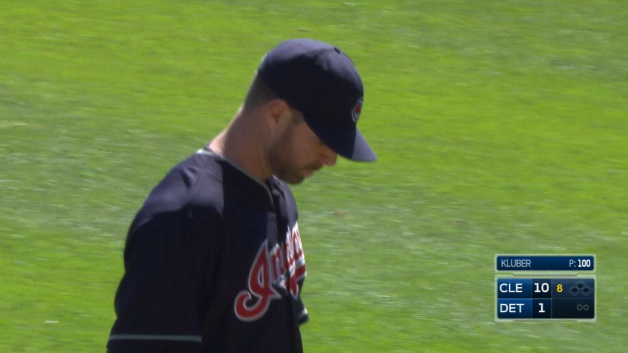 Kluber enjoys tremendous support en route to his first win of '16