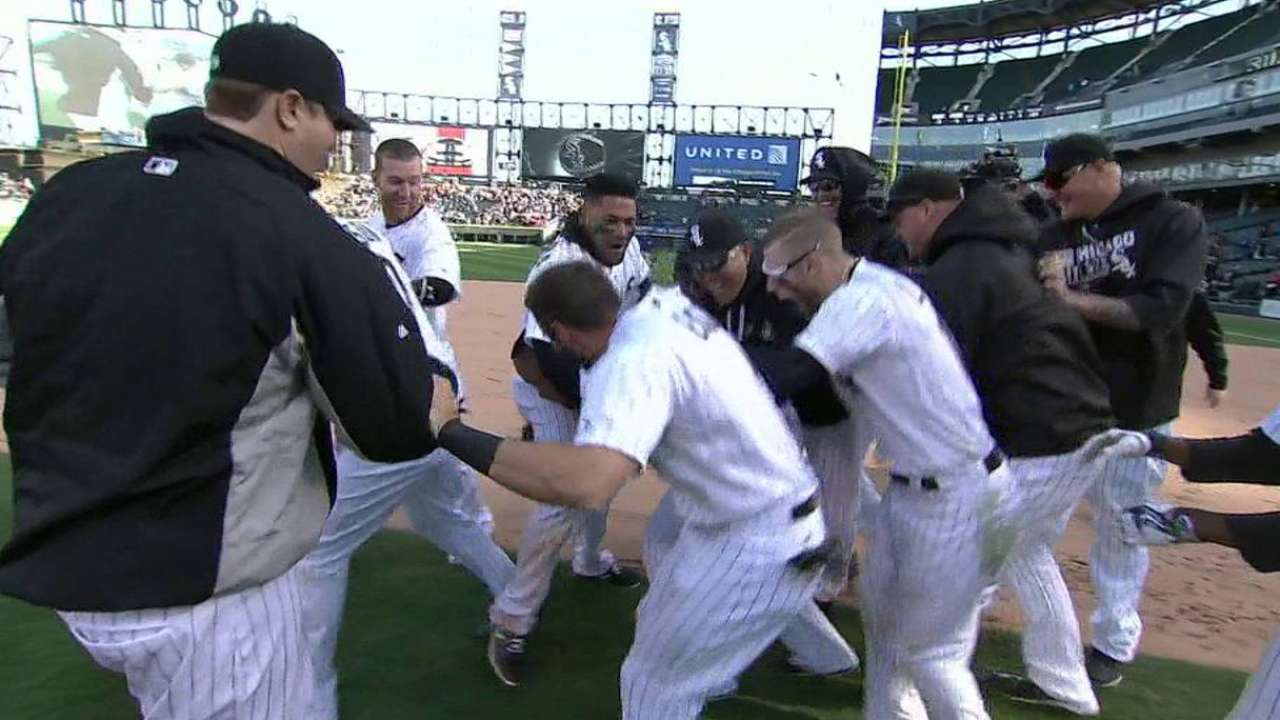 Abreu's walk-off single