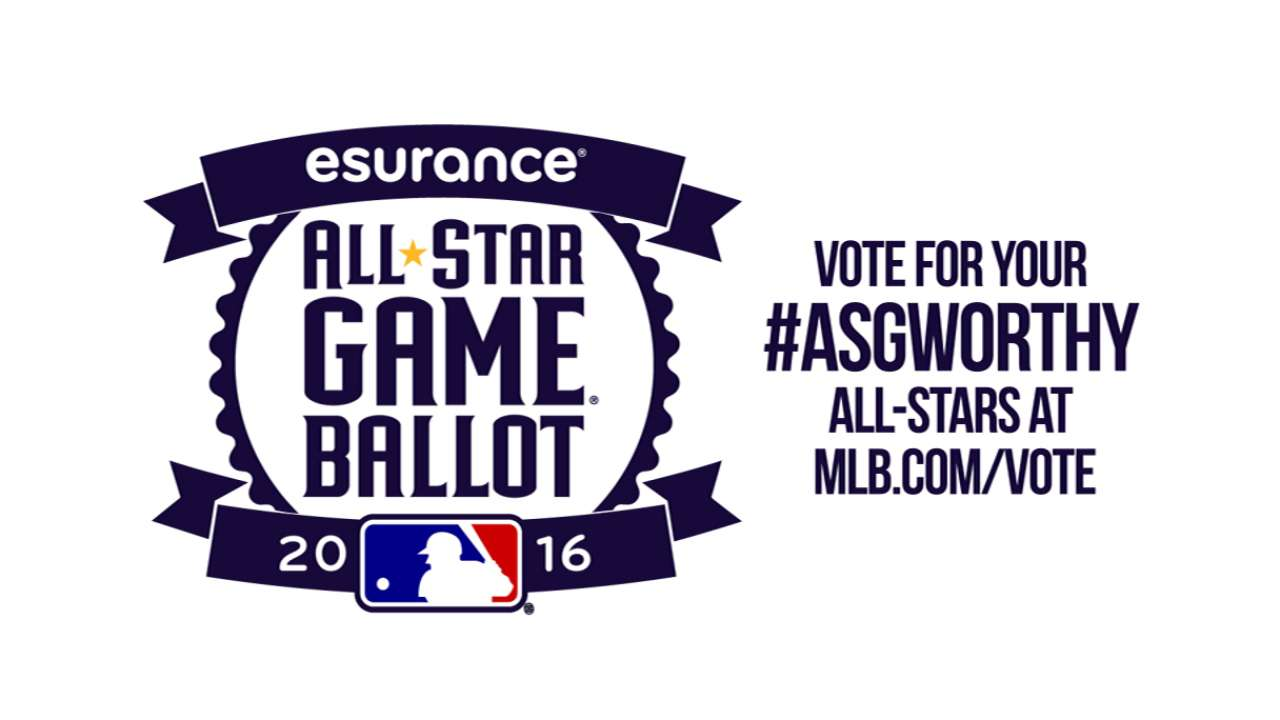 O's well-represented on All-Star Ballot