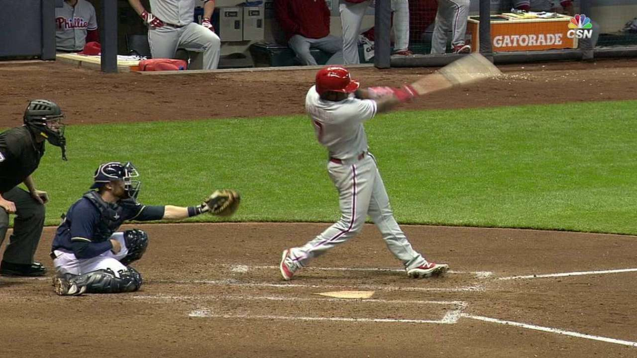Franco's three-run homer