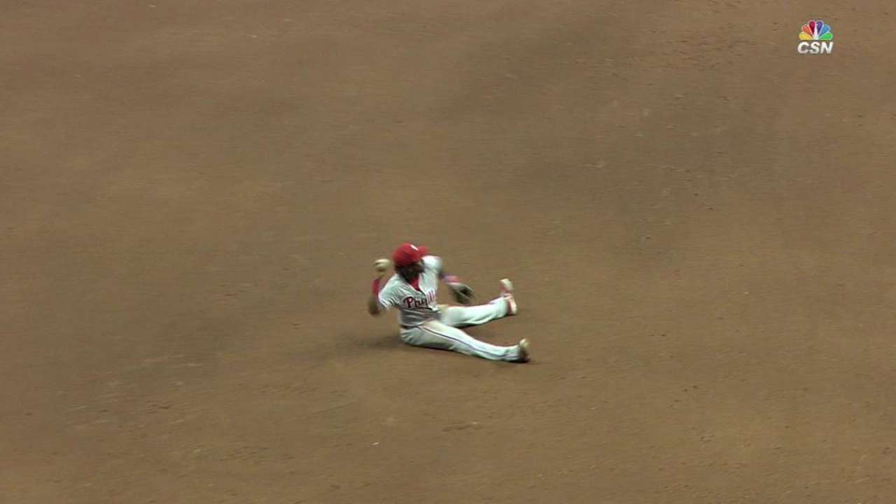 Franco's diving play