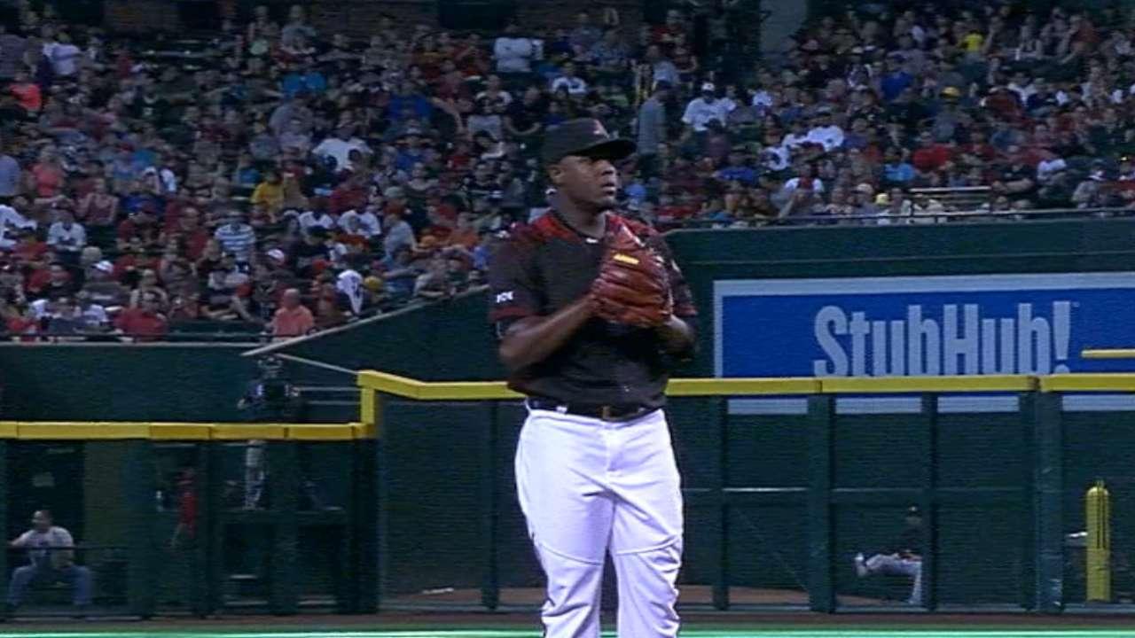 Rubby, 'pen pitch D-backs past Pirates