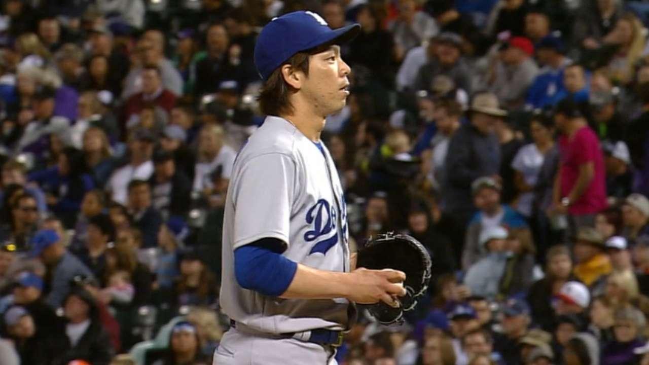 Maeda's scoreless start