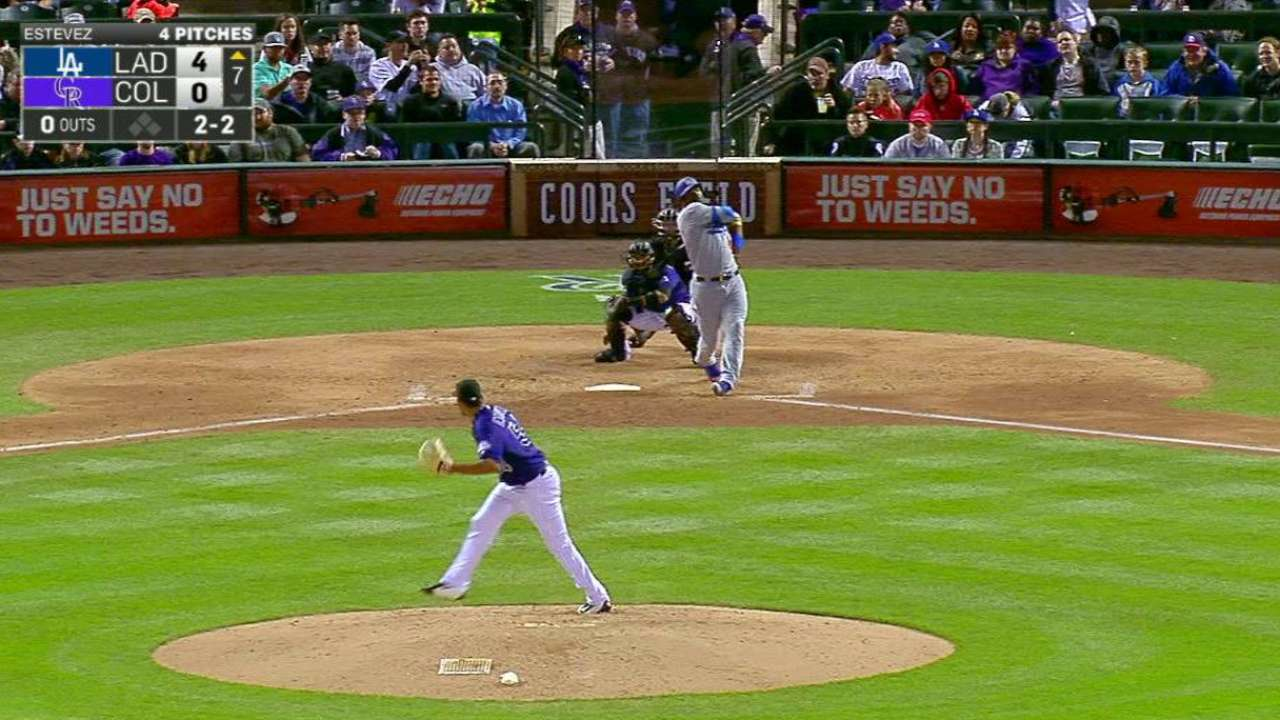 Rookie Estevez shines in debut for Rox