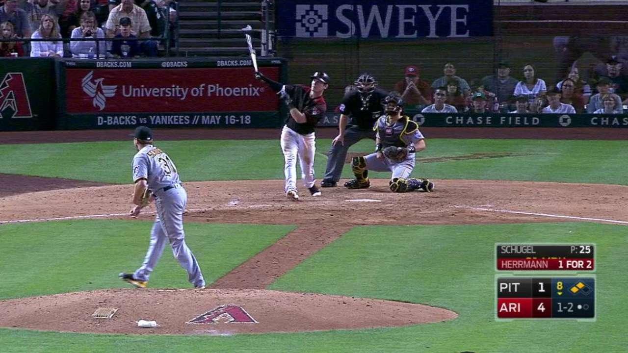 Herrmann's three-run homer