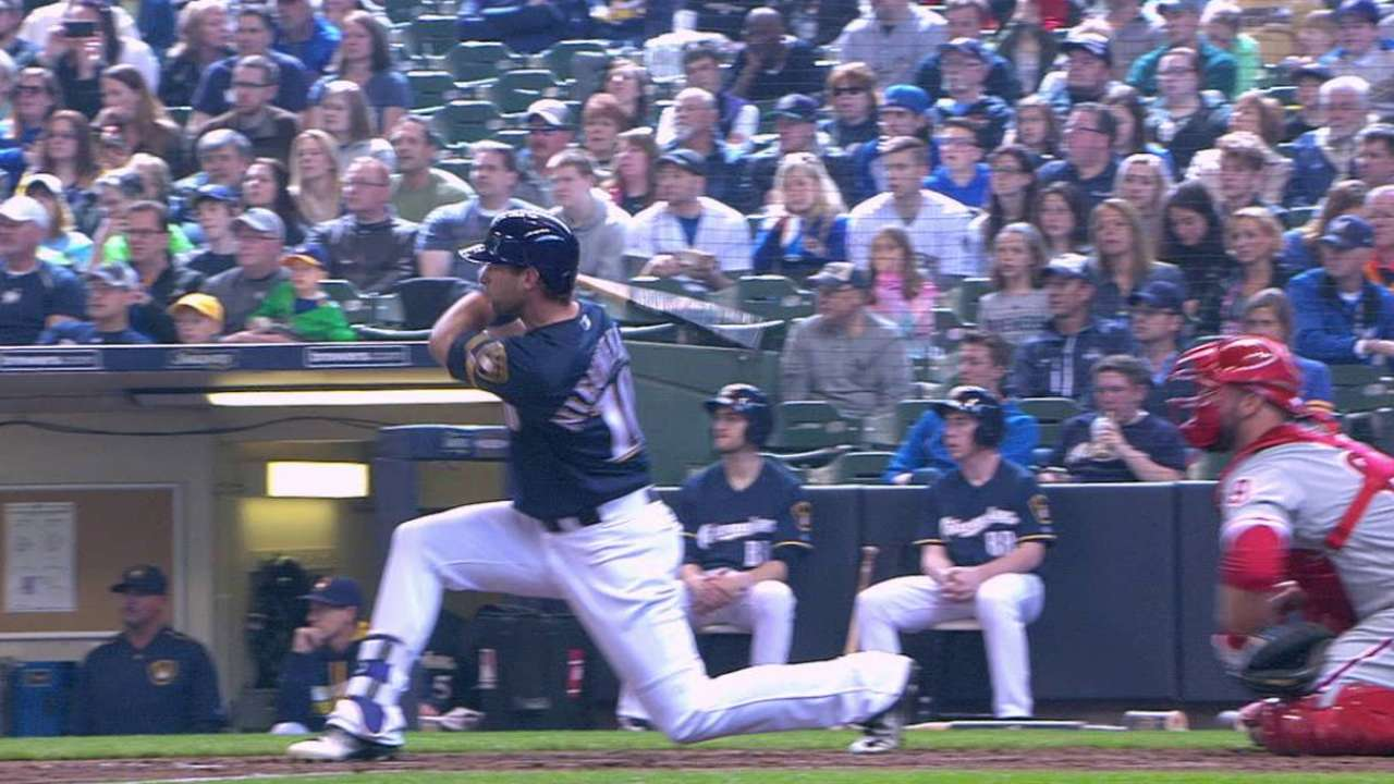 Nieuwenhuis making case for increased at-bats