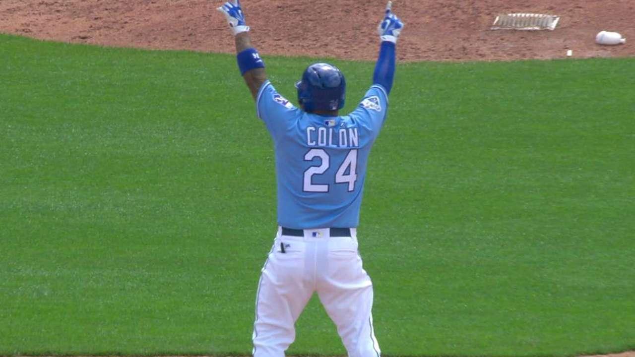 Colon's double drives in Gordon