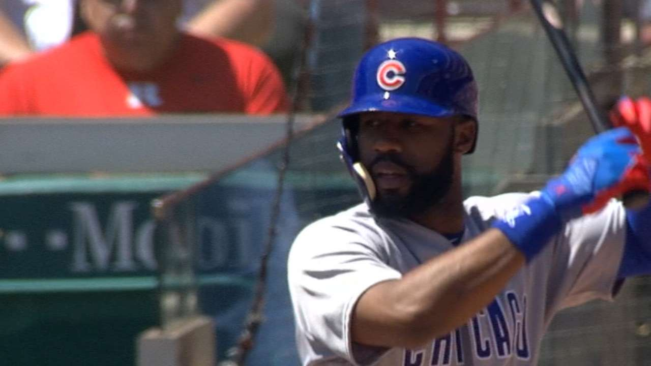 Heyward's four-hit game