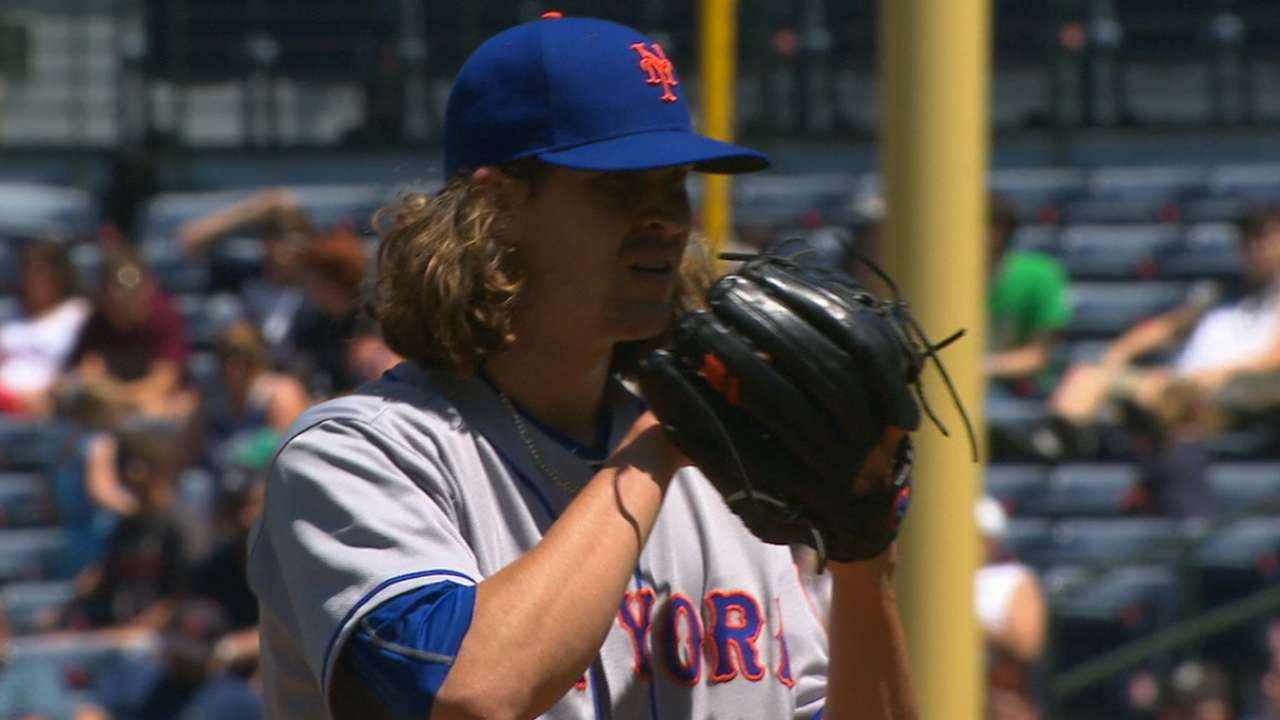deGrom doesn't skip beat as Mets get sweep