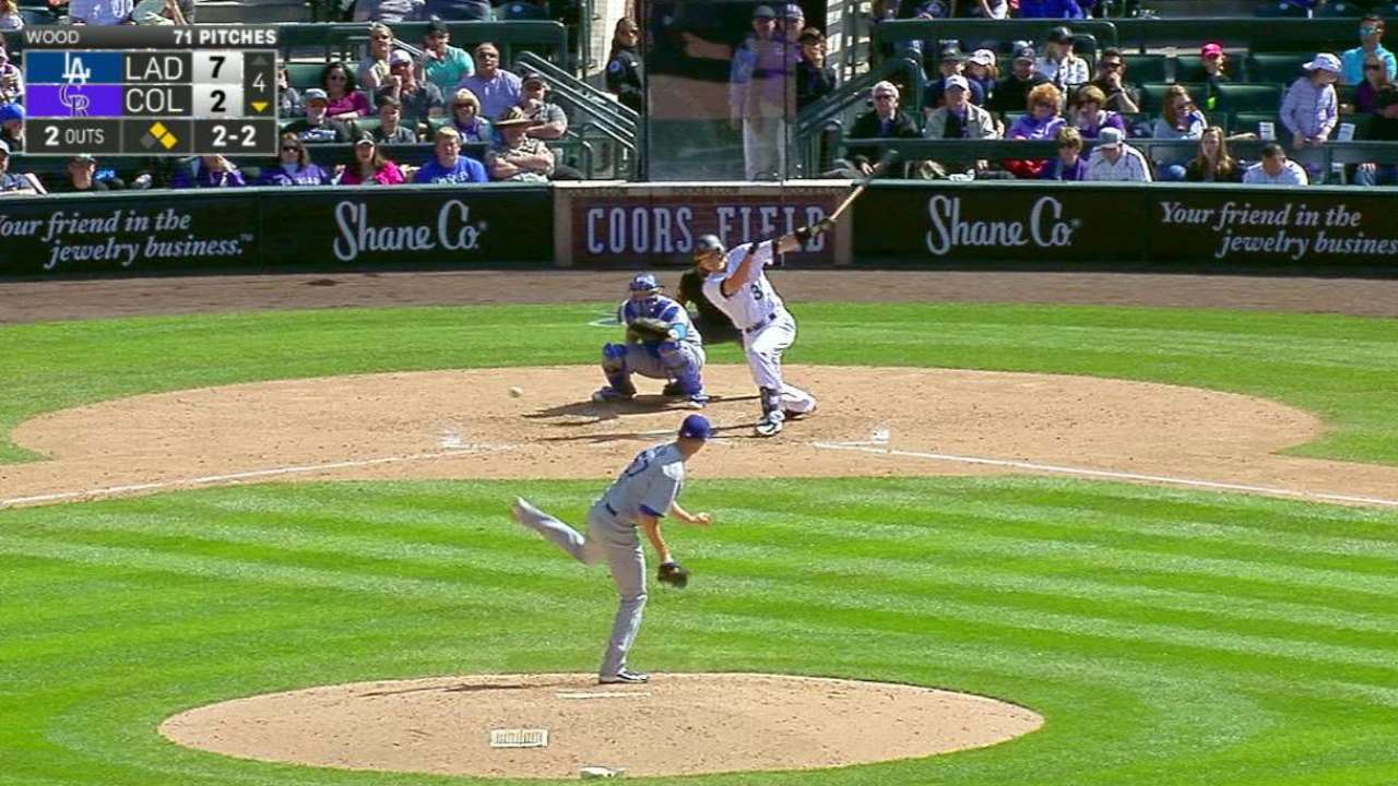 Garneau's RBI single
