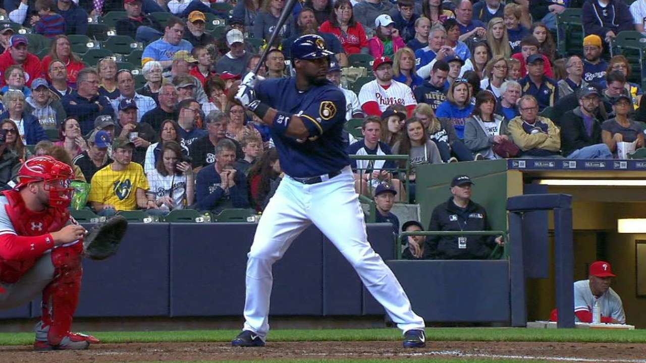 Don't call it a comeback: Carter hitting to all fields