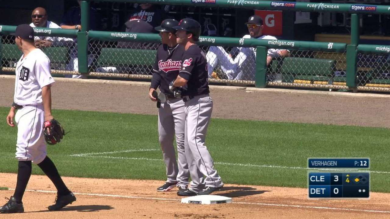 Tribe sends Naquin out to recall Anderson