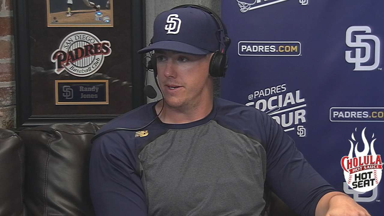 Padres Social Hour: Buchter on experience in Majors