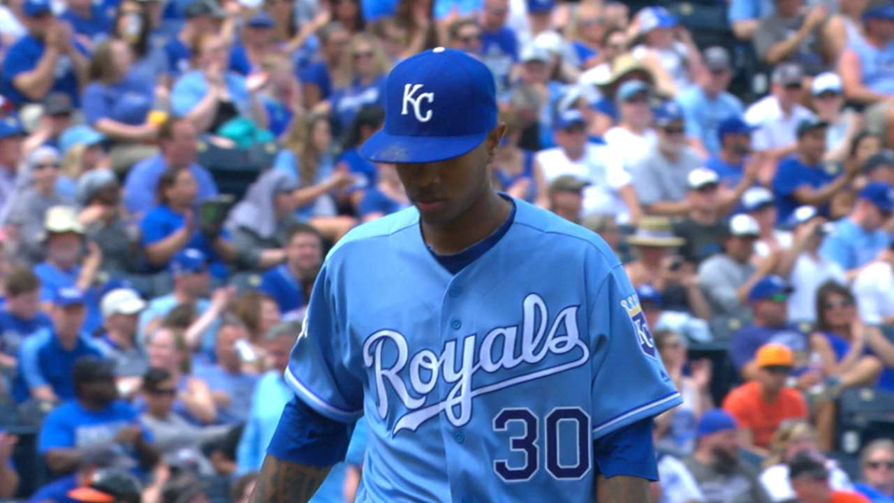 Ventura shuts down the Orioles