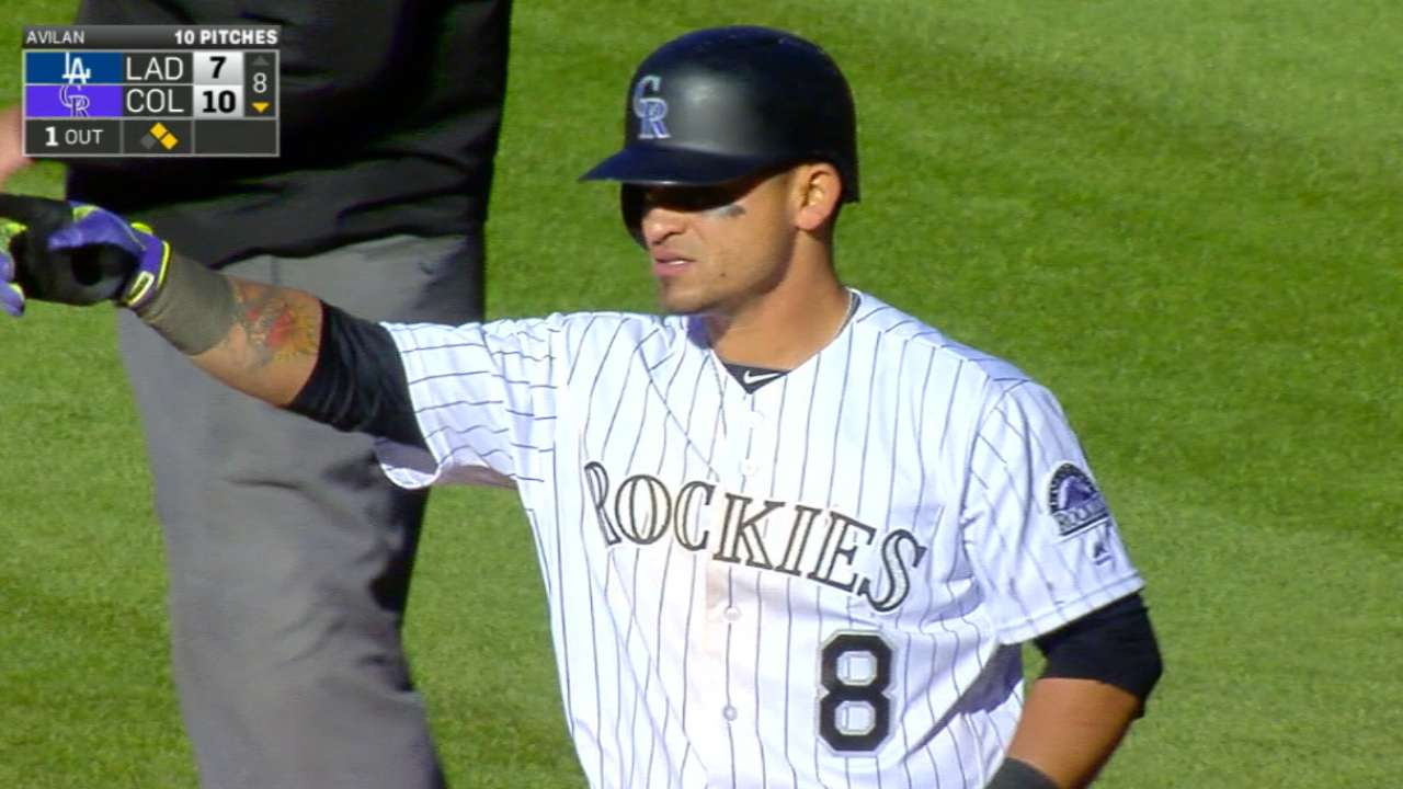 Parra's excellent day at plate wasted in loss