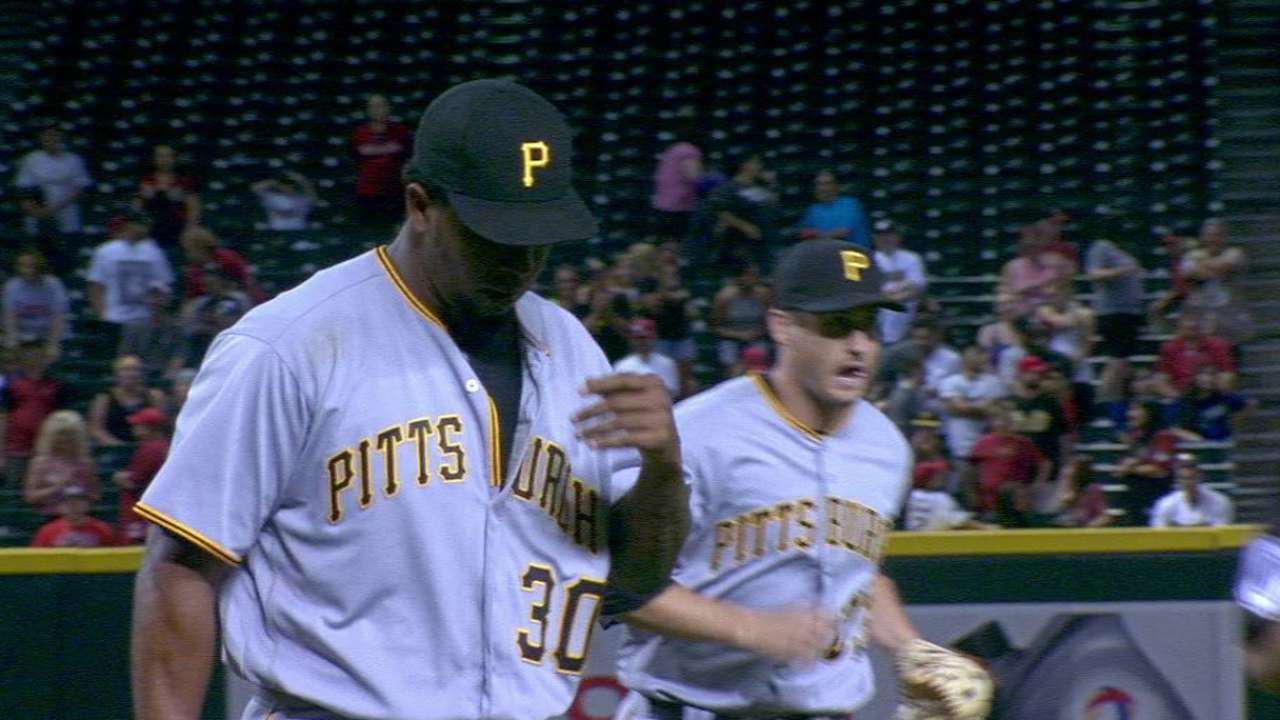Hurdle pleased with 'pen in extra-inning victory