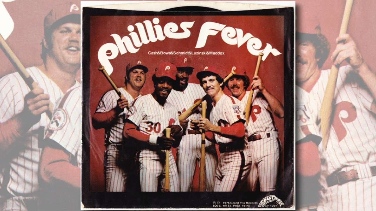 Phils celebrate 40 years since 'Phillies Fever'