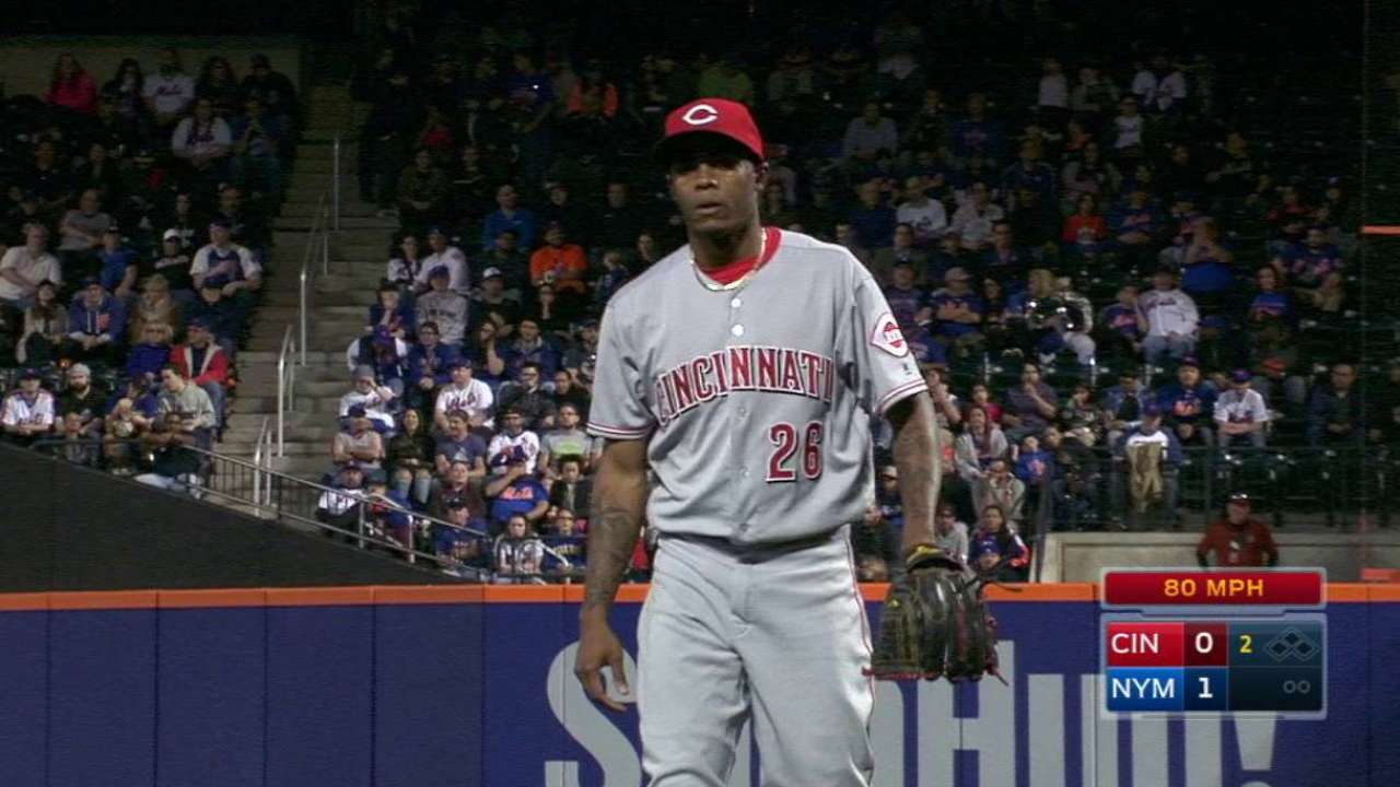 Iglesias yet to resume throwing on disabled list