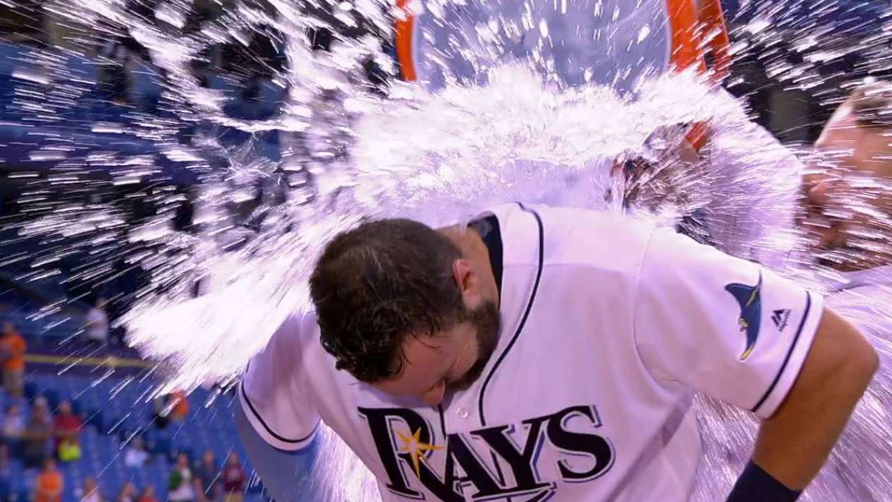 Casali on the Rays' win