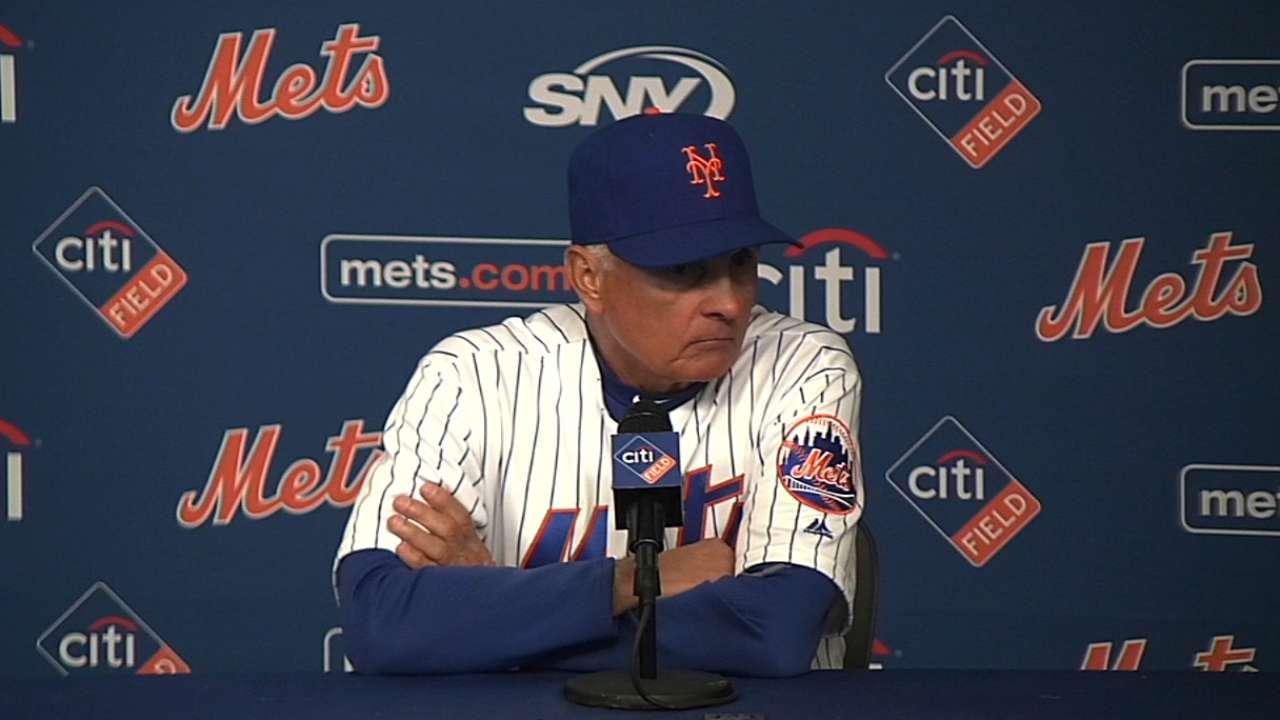 Collins on Mets' win