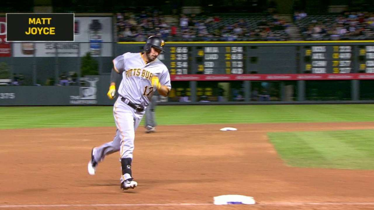 Joyce's late jack helps Pirates trump Rockies