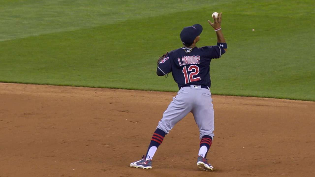 Lindor laments miscue on night of gems