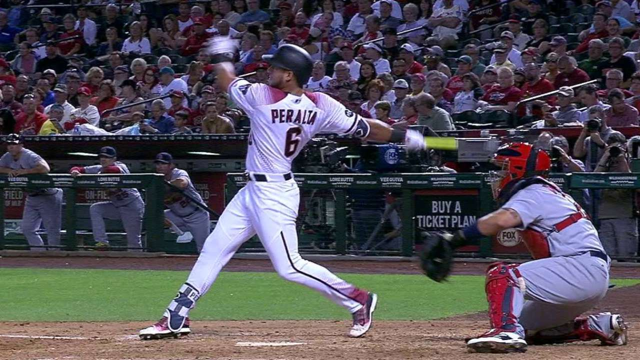 Peralta enthusiastically embraces role as leader