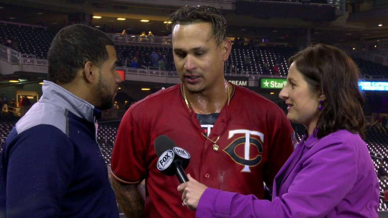 Arcia on his in-game adjustments