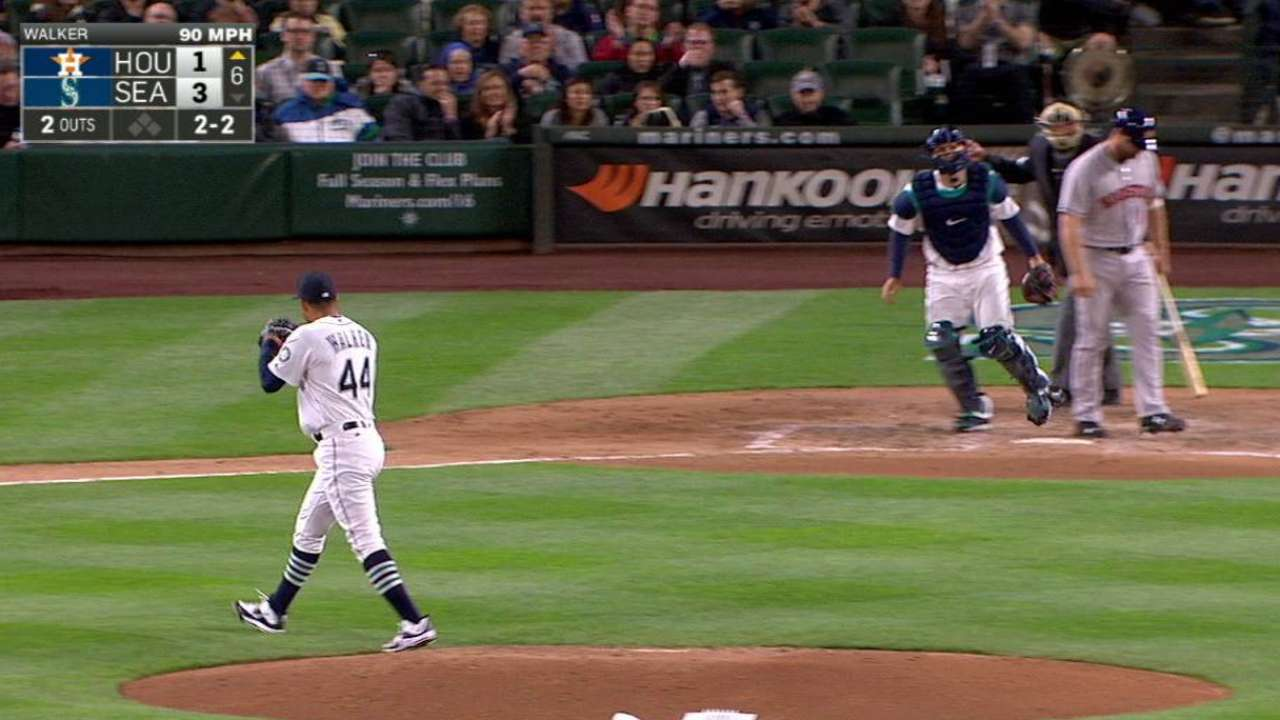 Seattle sees emerging ace in 'awesome' Walker