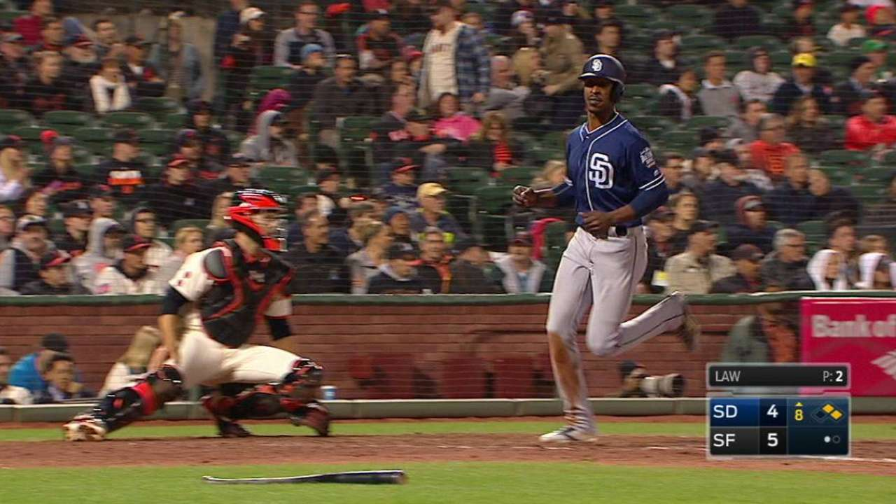 Wallace is becoming an elite pinch-hitter