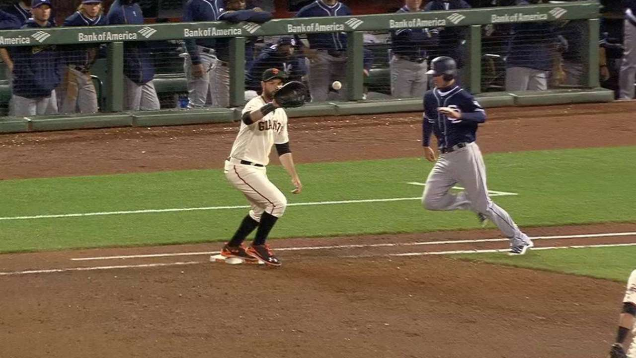Panik throws out Myers