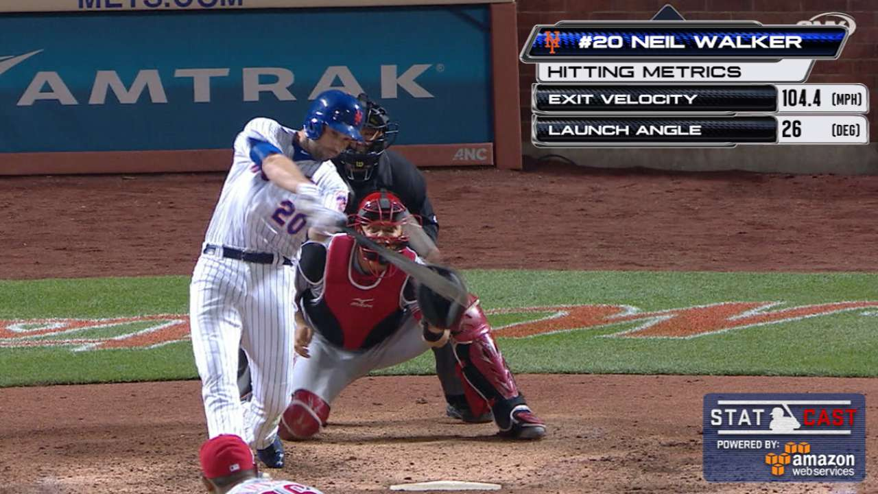 Walker's 8th Mets HR the difference vs. Reds