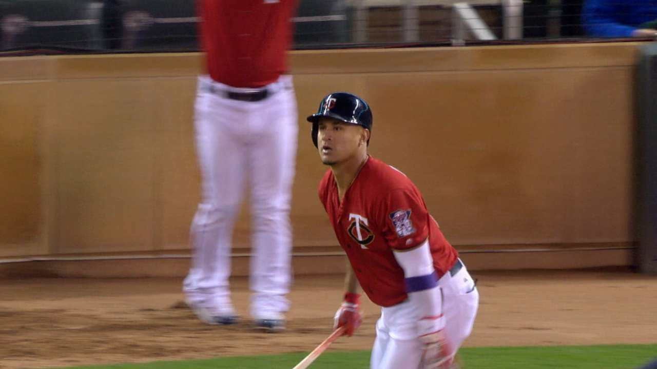 Arcia launches Twins to walk-off over Tribe