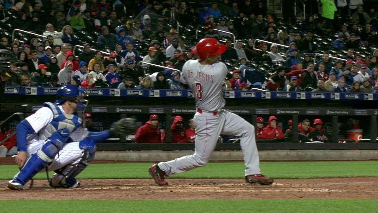 De Jesus Jr.'s two-run home run