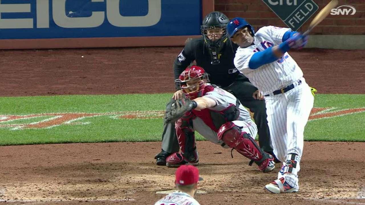 Dramático HR de Céspedes fue clave en victoria de Mets