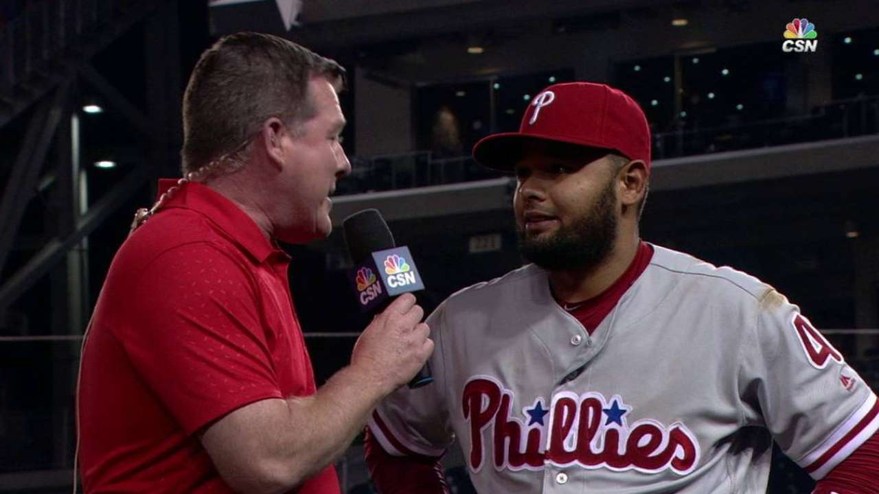 Blanco on three-hit game in win