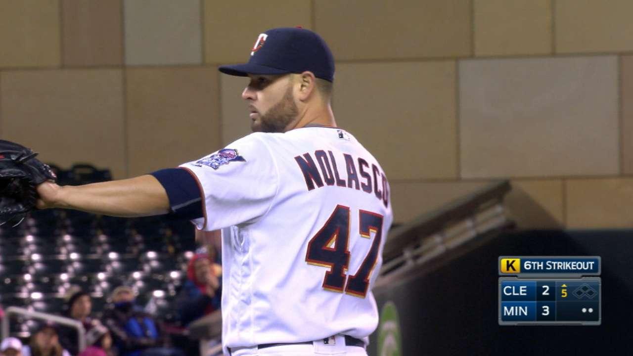 Nolasco's nine strikeouts