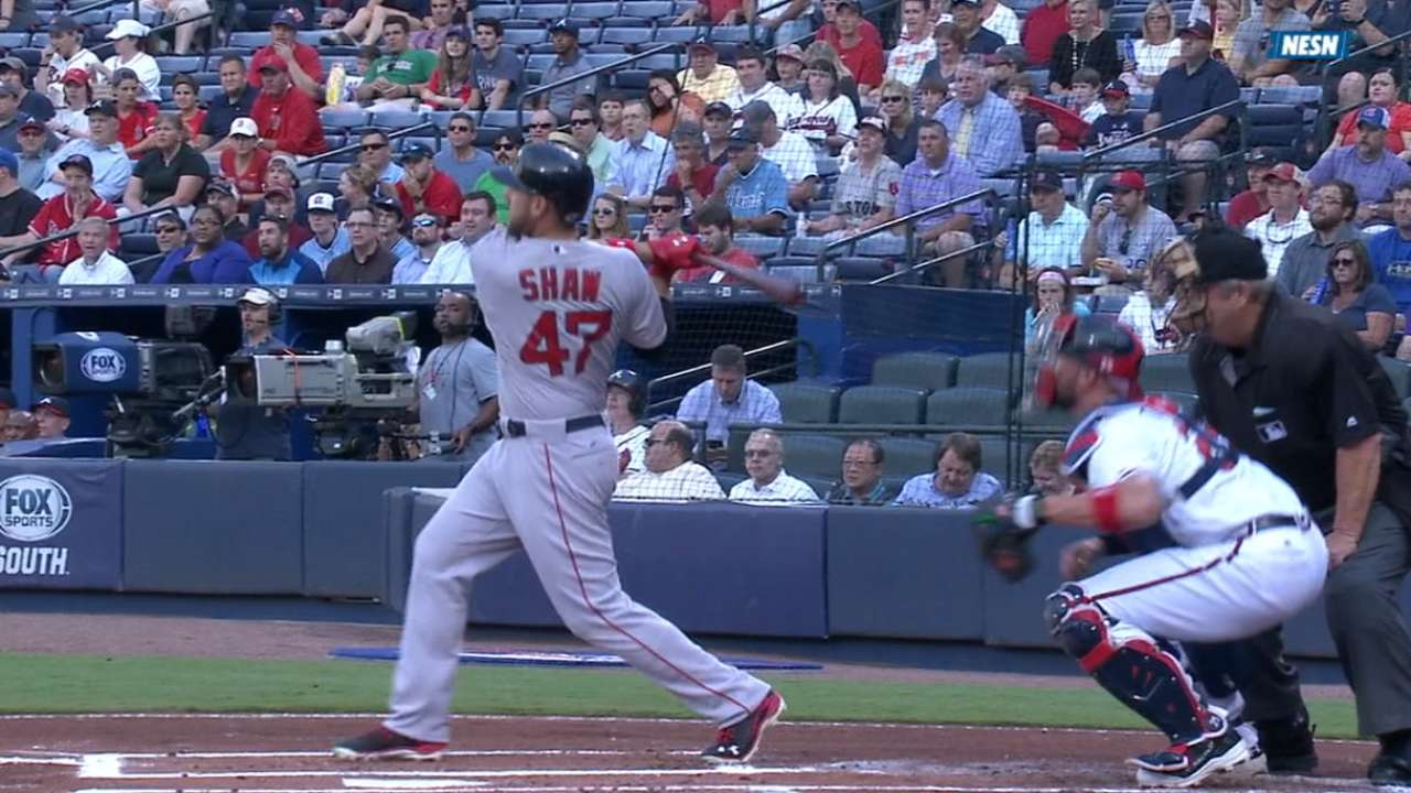 Shaw's five-RBI game