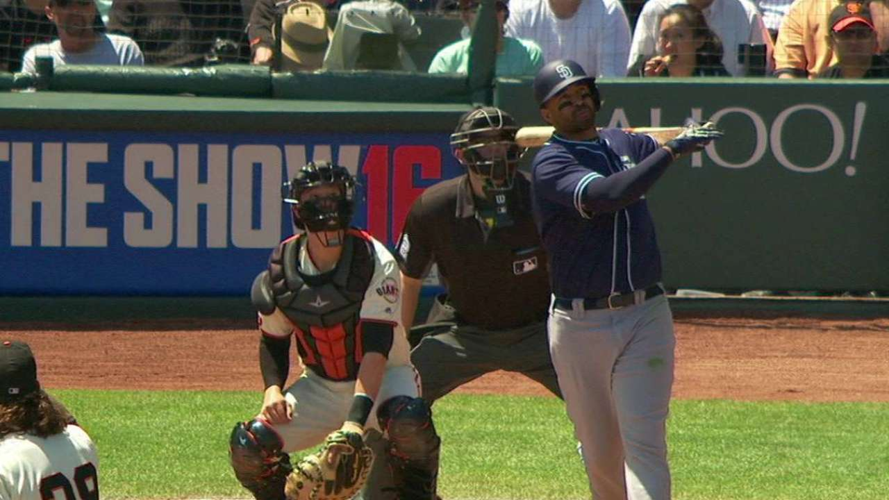 Padres unable to balance hitting, pitching in SF
