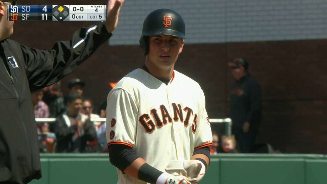 Panik on verge of returning to action for Giants