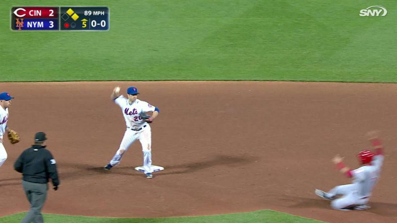 Harvey induces double play