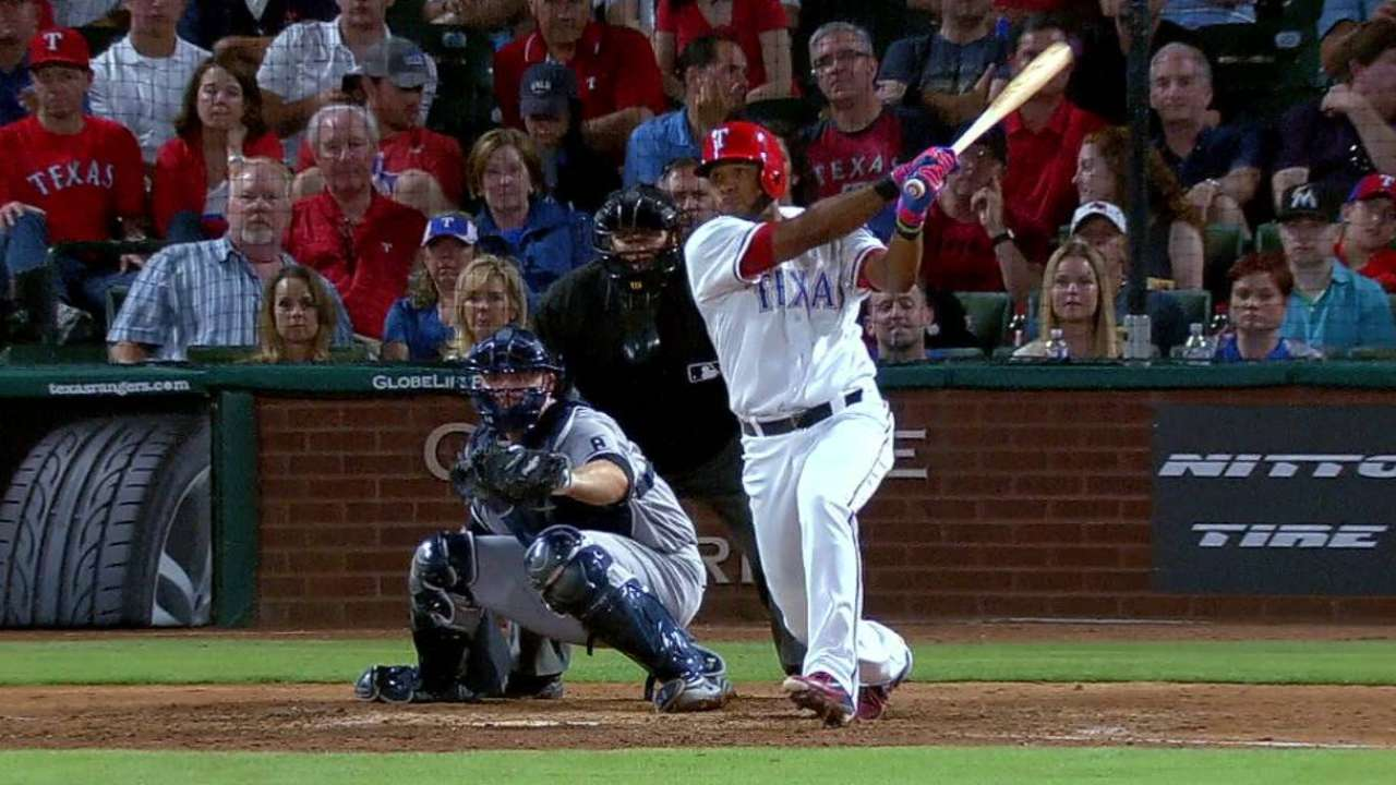 Andrus having an April to remember