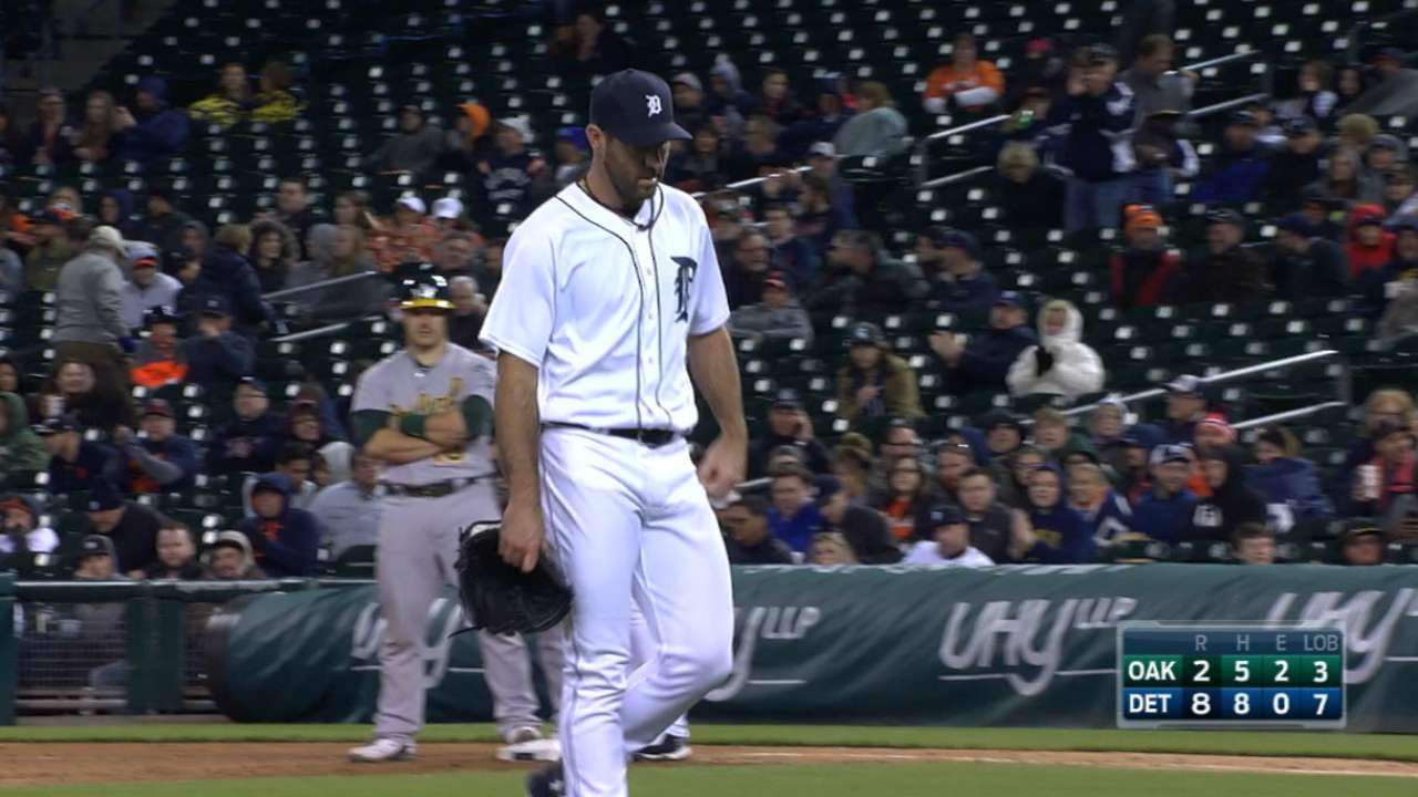 Entering May, Verlander where he needs to be