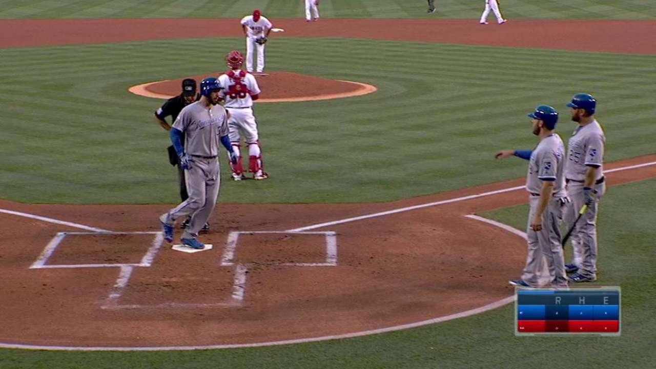 Hosmer's two-run home run